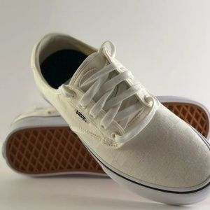 Vans Chima Ferguson Pro White on White Checkered